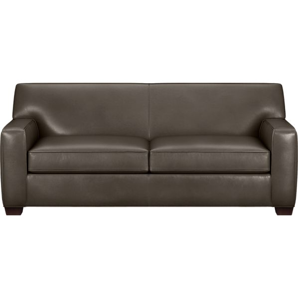Cameron Leather Apartment Sofa