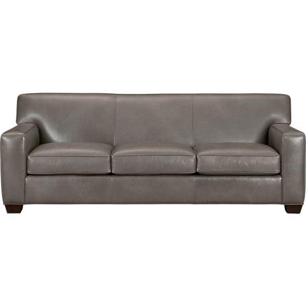 Cameron Leather Sofa