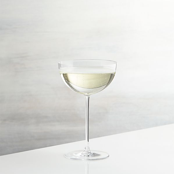 Camille Champagne Coupe Glass