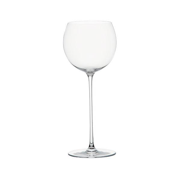camille 13 oz white wine glass crate and barrel. Black Bedroom Furniture Sets. Home Design Ideas