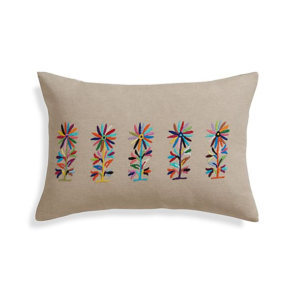 """Camino 18""""x12"""" Pillow with Down-Alternative Insert"""