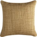 "Caney Teak 20"" sq. Pillow"