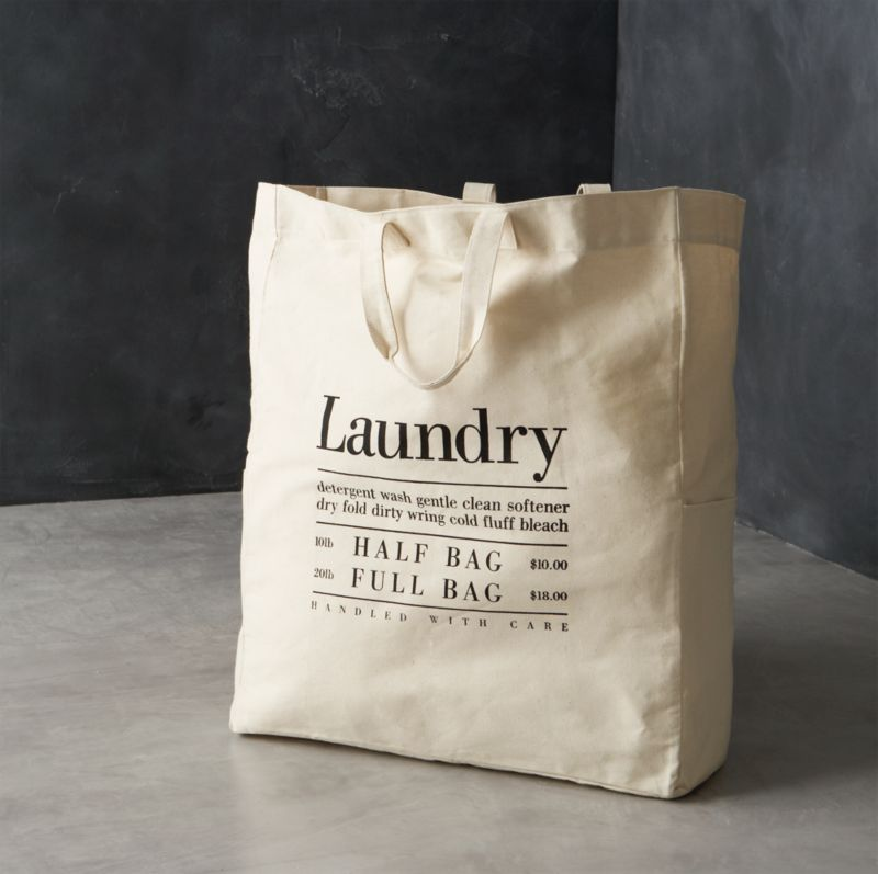Canvas Laundry Bag Crate And Barrel