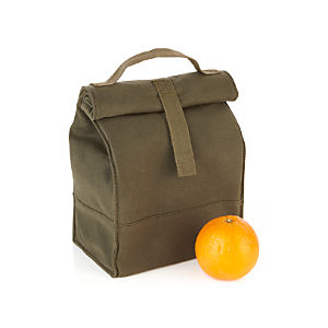Canvas Lunch Tote