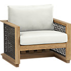 Canyon Lounge Chair with Sunbrella® White Sand Cushion.