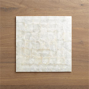 Capiz Shell Square Placemat