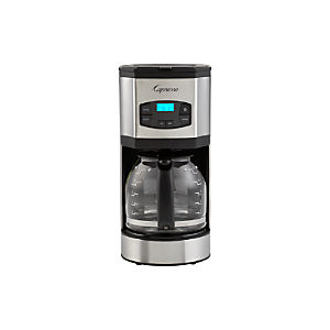 Capresso 12 Cup Stainless Steel Coffee Maker