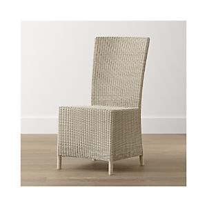 Captiva Seaside White Side Chair