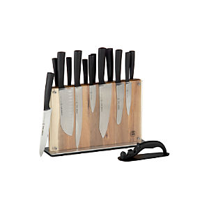 Schmidt Brothers® Carbon6 15-Piece Knife Block Set