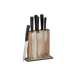 Schmidt Brothers® 7-Piece Carbon6 Knife Block Set