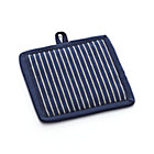 Carbon Blue Stripe Potholder.