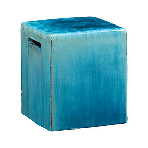 Carilo Blue Garden Stool