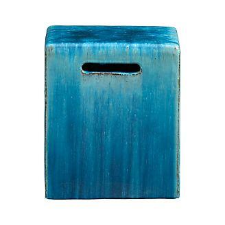 Carilo Blue Garden Stool