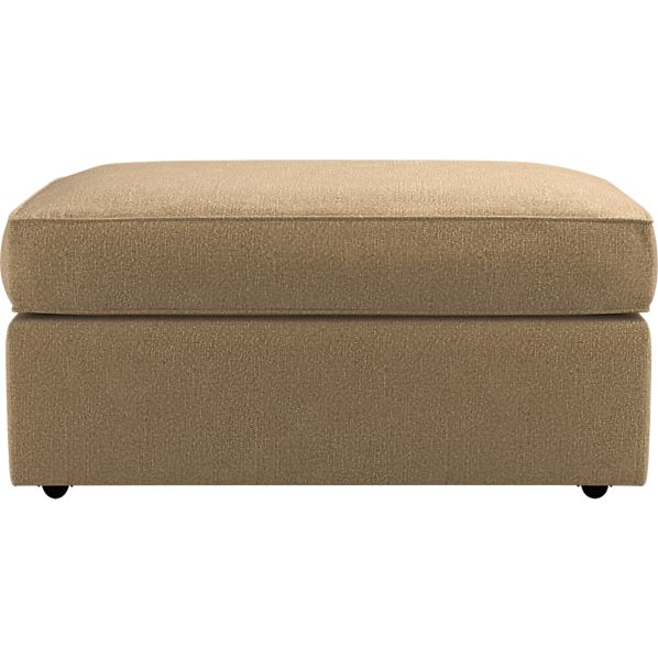 Carlton Double Wide Storage Ottoman with Casters