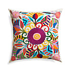 Carmen Pillow with Feather Insert.