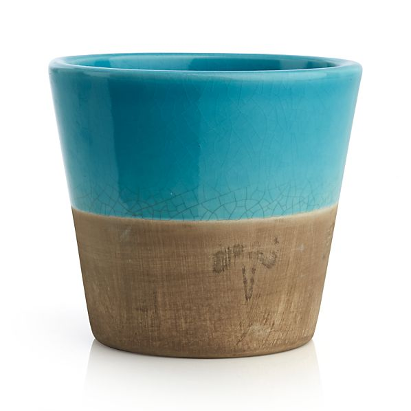 Carnivale Blue Mini Planter