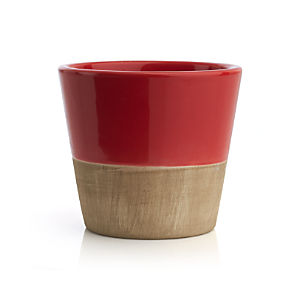 Carnivale Red Mini Planter