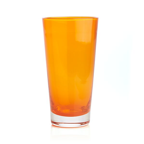 Carson Orange Shot Glass