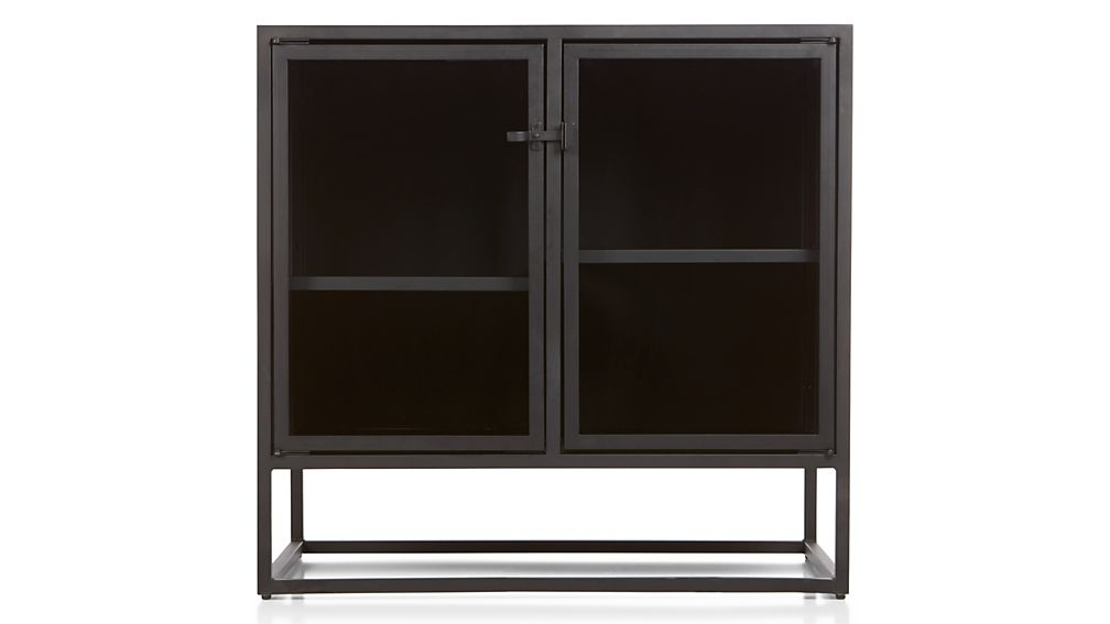Casement Black Small Sideboard