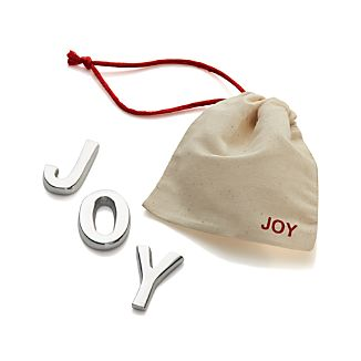 "Cast Aluminum ""Joy"""