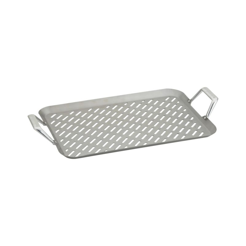 Stainless Steel Handled Large Grill Grid