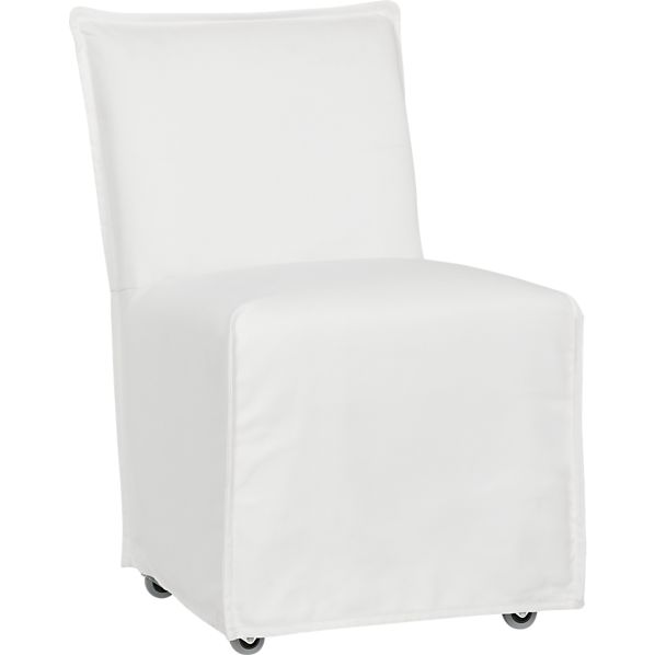 Catalina Dining Chair with Casters