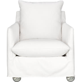 Catalina Lounge Chair with Casters