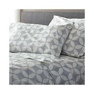 Cate Blue Extra-Long Twin Sheet Set