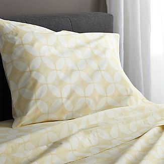Cates Yellow Twin Sheet Set