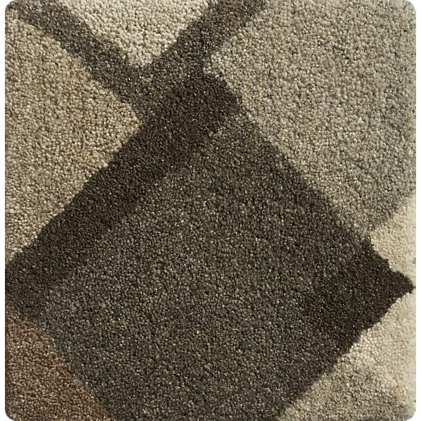 "Cauble Neutral 12"" sq. Rug Swatch"
