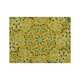 Cecily Ochre Yellow Wool 9'x12' Rug