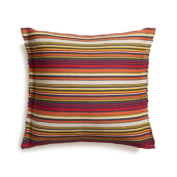 "Cedric 23"" Pillow with Feather Insert"