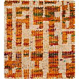 "Celosia Orange 12"" sq. Rug Swatch"