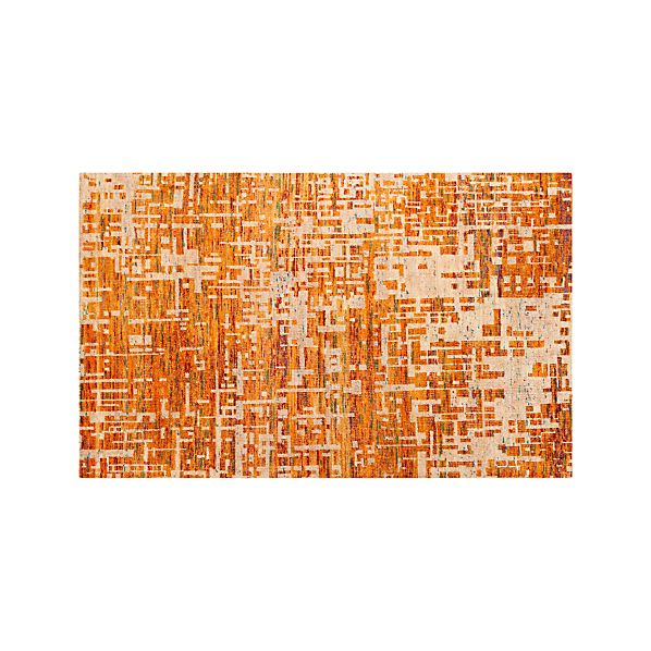 Celosia Orange 5'x8' Rug