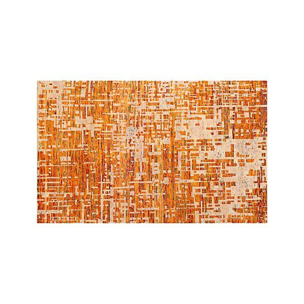 Celosia Orange 5'x8' Rug