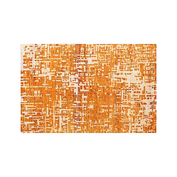 Celosia Orange 6'x9' Rug