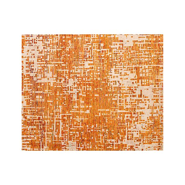 Celosia Orange 8'x10' Rug