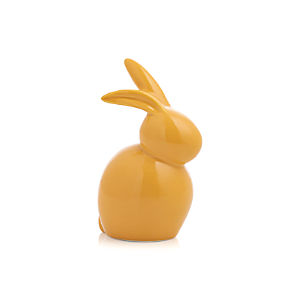 Ceramic Yellow Mini Bunny