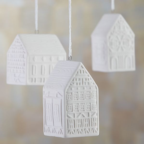 Ceramic House Ornaments