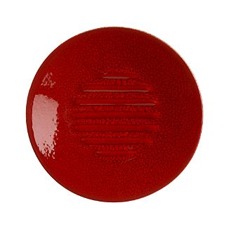 Red Ceramic Soap Dish