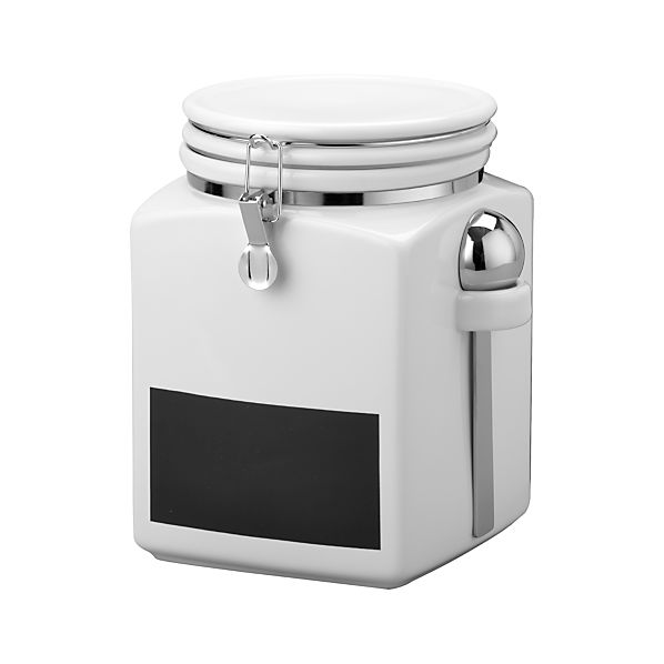 Large Clamp Canister with Chalkboard