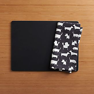 Chalkboard Placemat and Dog Park Napkin