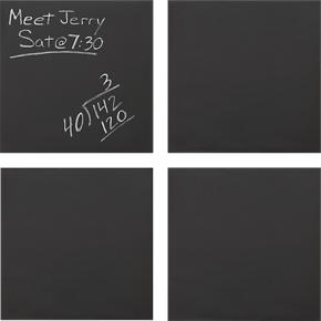 Chalkboard Square Set of Four