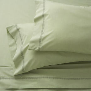 Chambray Green Sheet Sets
