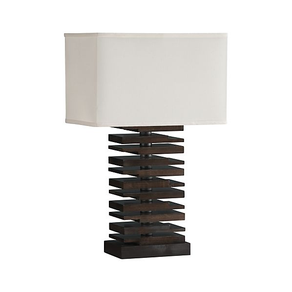 Channel Table Lamp