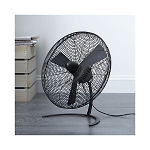 "Charley Black 18"" Floor Fan"