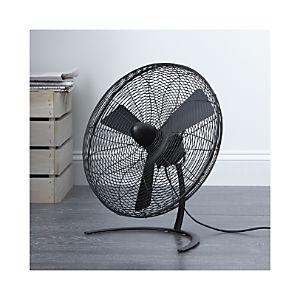 """Charley Black 18"""" Floor Fan"""