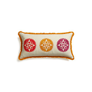 "Cheema 24""x12"" Pillow with Down-Alternative Insert"