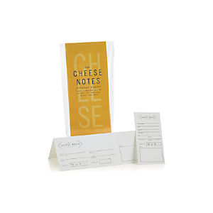 30-Piece Cheese Note Set