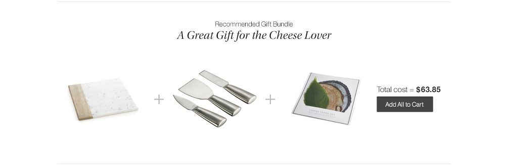 Cheese Gift Bundle
